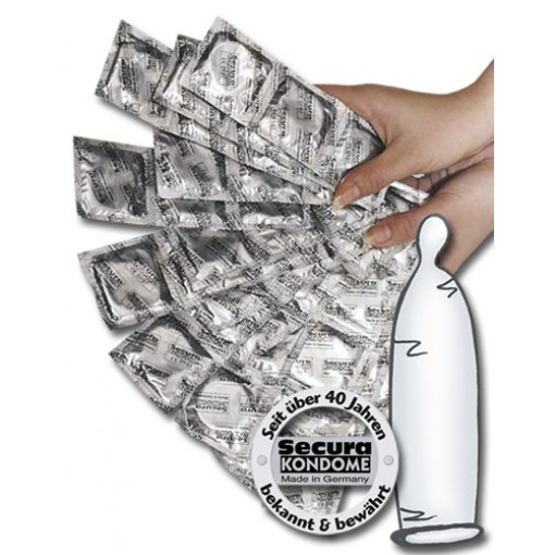 Secura nøytrale Kondomer 50 pk
