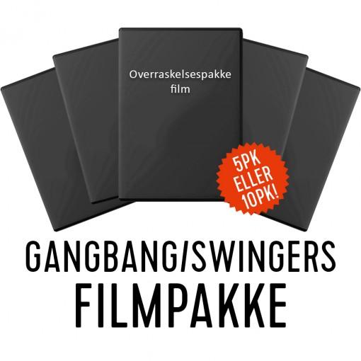 Overraskelsespakke Film - Gangbang/swingers