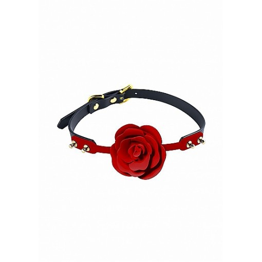 ZALO & UPKO - Doll Designer Collection - Rose Ball Gag - Rød