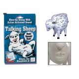 Talking Sheep - Oppblåsbar sau med lyd