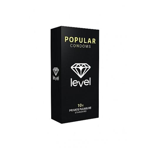 Level Popular - Standard kondomer 10 stk