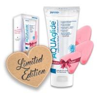 Aquaglide - Vannbasert Glidemiddel - 200 ml + 3 stk Soft Tampons