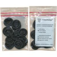 Amor - Fingerkondomer, Medium - 24 stk - Sort