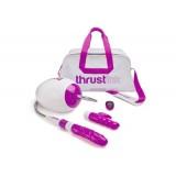Thrustick - Sexmaskin med fjernkontroll Hvit/Rosa