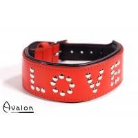 Avalon - YOU'RE MY - Collar Love - Rød