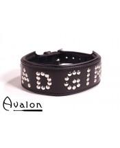 Avalon - Collar Bad girl - Sort