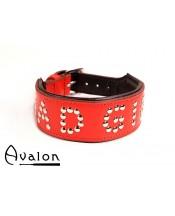 Avalon - Collar Bad girl - Rød