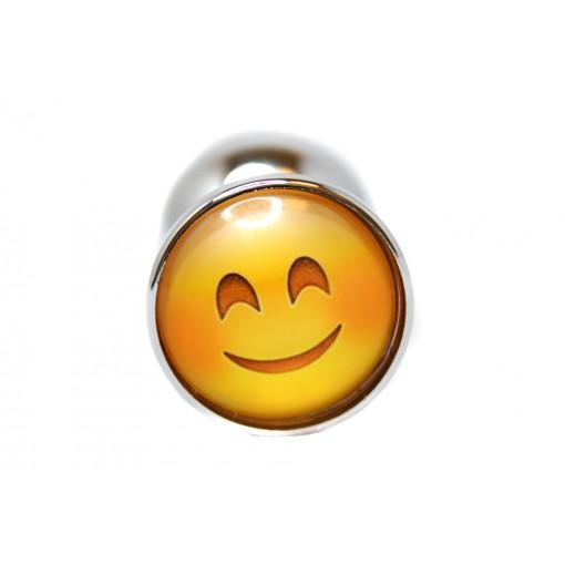 BQS - Buttplug med emoji - Smilende Smiley
