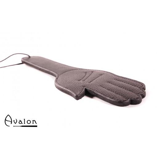 Avalon - GAWAIN - Paddle med Håndform i Massivt Lær