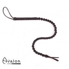 Avalon - RANGER - Sort flettet silikonflogger