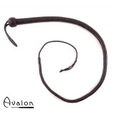 Avalon - SERPENT - Bullwhip heavy handle, Sort 1,3 m