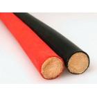 BQS - Cane - spanskrør med gummibelegg - Rødt 10 mm
