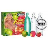 Secura Sexy Fruits - kondomer med smak 24 pk
