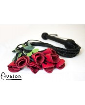 Avalon -  Roseflogger med sort håndtak