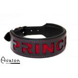 Avalon - Collar Princess - Rød og sort