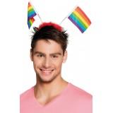 Pride - Diadem med Flagg