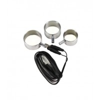 Rimba - Electro Sex - Penisring i Aluminium 3 pk