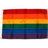 Rainbow flag, 4' x 6'