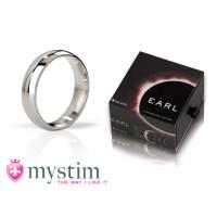 Mystim - The Earl - Polished penisring, 48mm