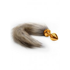 Ouch! - Foxtail Buttplug Gold