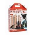 Vibrating Dual Density ULTRASKYN™  Strap On Set - Lys