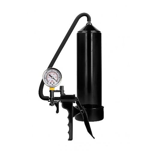 Pumped - Elite Beginner Pump - Med PSI måler - Svart
