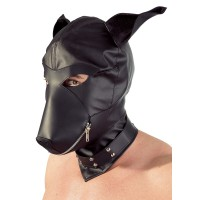 Dog Mask - Sort