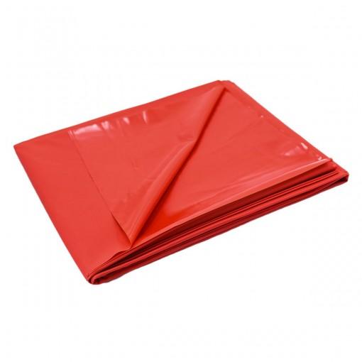 Bed sheet cover - PVC laken Rødt 200 x 220